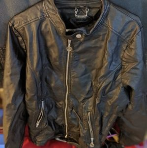 Plus size Pleather Jacket from H&M
